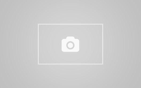 Threesome in a hut