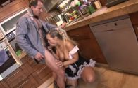 After a long day, cock was needed